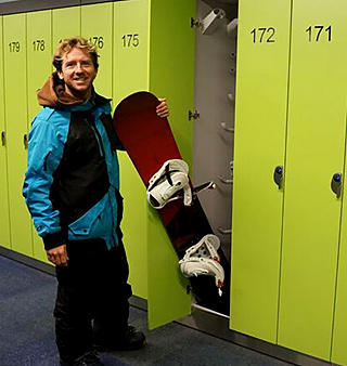 ski-lockers