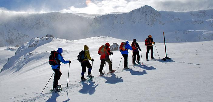 snowshoeing in bansko, pirin and rila mountains
