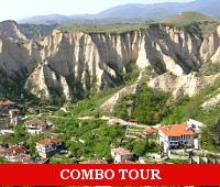 combo tour to Melnik and Rila Monastery