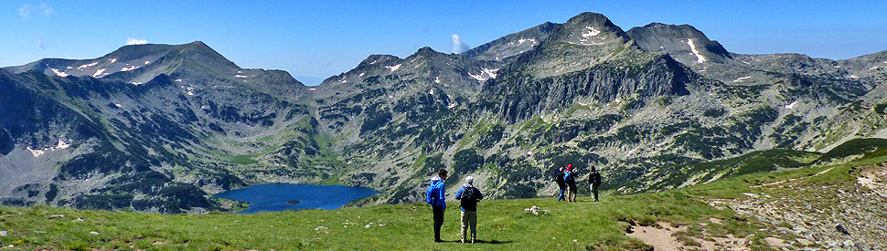 Summits and lakes of the Rila and Pirin mountains; self-guided hiking tour in Bulgaria
