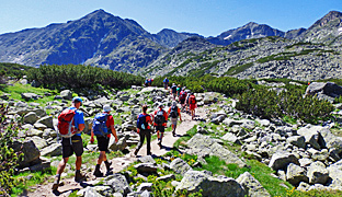 guided walking rila and pirin mountains, bulgaria