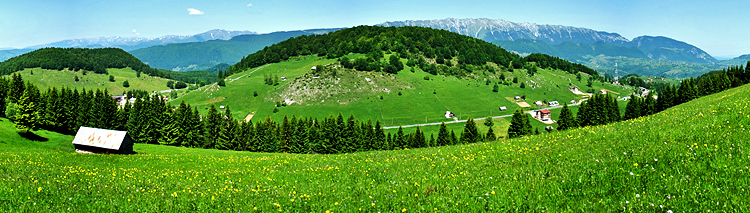 Castles and villages of the Carpathian Mountains