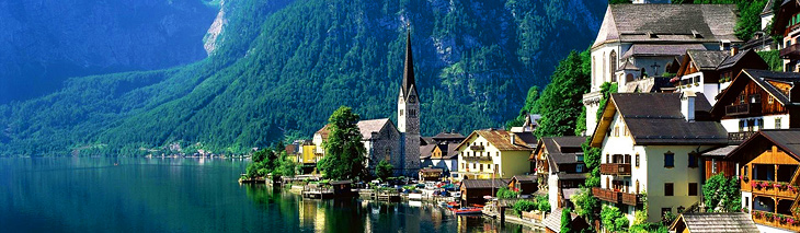 The Salzkammergut Lakes