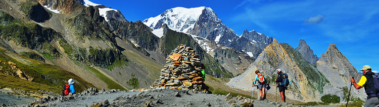 Tour Du Mont Blanc - 8 & 12-day packages